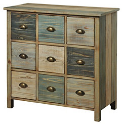 Serenity 9-Drawer Apothecary Chest