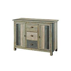 Serenity Blue 3-Drawer Cabinet