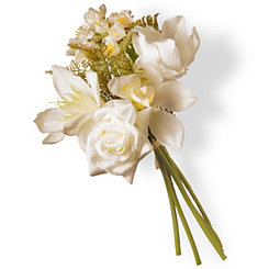 Cream Magnolia Bundle Bouquet