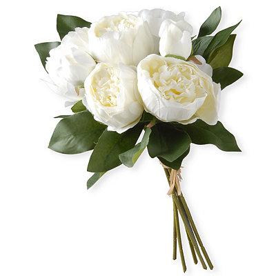 White Peony Bundle Bouquet