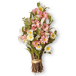 White and Pink Daisy Bundle Bouquet