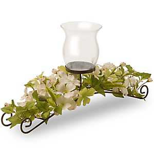 Dogwood Blossom Candle Holder