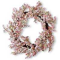 Light Pink Berry Wreath