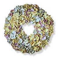 Mixed Hydrangea Wreath