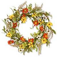 Sunflower Floral Wreath