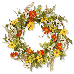 Sunflower Floral Wreath