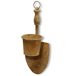 Hanging Garden Spade with Removable Pot Planter