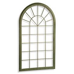 Green Metal Garden Panel Arch
