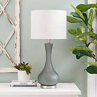 Blue Rowena Glass Table Lamp