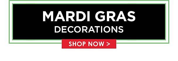 Mardi Gras Decorations - Shop Now
