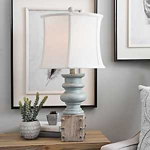 Beth Blue Wash Table Lamp