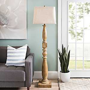 Laney Golden Oak Floor Lamp
