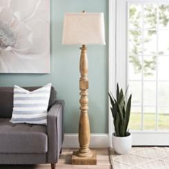 Laney Golden Oak Floor Lamp