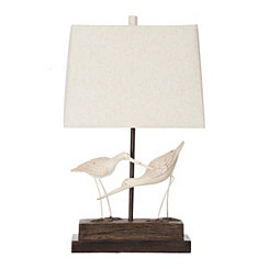 Ivory Sandpiper Table Lamp