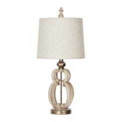 Cream Elizabeth Scroll Table Lamp