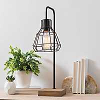 David Metal Shade Edison Task Lamp