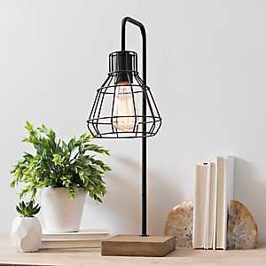 David Metal Shade Edison Task Lamp