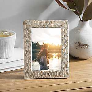 Golden Capiz Picture Frame, 5x7