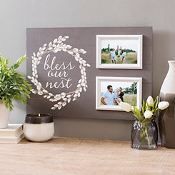 Bless Our Nest Collage Frame