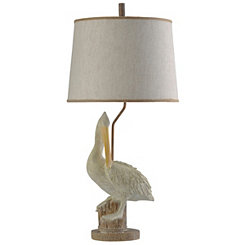 Pelican on Pier Table Lamp