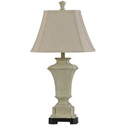 Ivory Urn Table Lamp