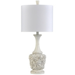 Ivory Starfish Long Neck Table Lamp