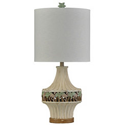 Band of Flamingos Ivory Table Lamp and Night Light
