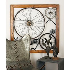 Wheels, Gears, and Axles Wall Plaque