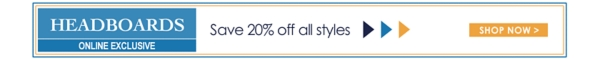 20% off All Headboards - Online Only - Shop New Looks In Outdoor Furniture - Shop Now