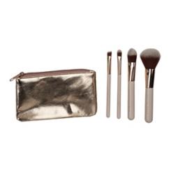 Olivia Grace Travel Brush Cosmetic Bag