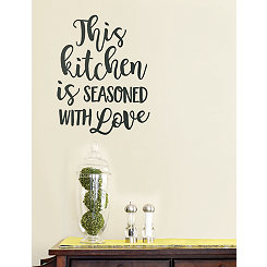 This Kitchen is Seasoned With Love Decal