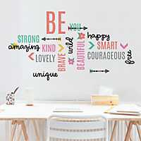 Be Beautiful Inspirational Wall Decal