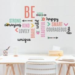 Be Beautiful Inspirational Wall Decal