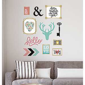 Eclectic Icon Wall Decal