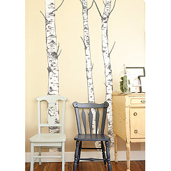 Birch Trees Wall Decal