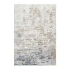 Edward Tan Abstract Area Rug, 8x10
