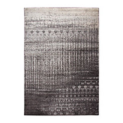 Edward Patterned Brown Area Rug, 5x7