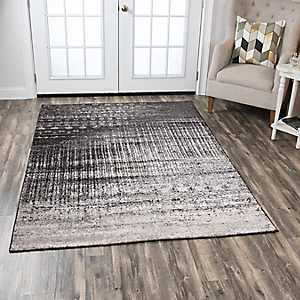 Edward Patterned Brown Area Rug, 8x10