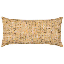 Yellow Threaded Accent Pillow