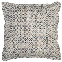 Gray Diamond Dot Pillow