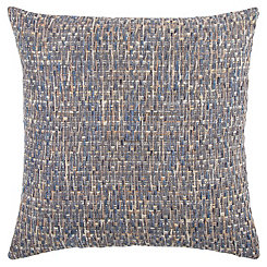 Blue Threaded Pillow