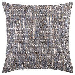 Blue Threaded Pillow