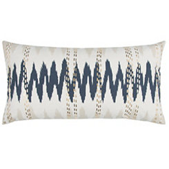 Abstract Wavelength Accent Pillow