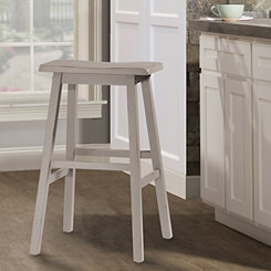 Moreno Distressed Gray Bar Stool