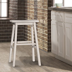 Moreno Sea White Counter Stool