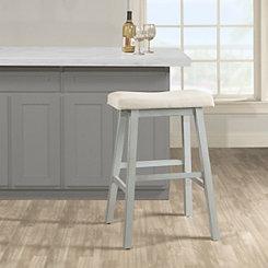 Moreno Blue-Gray Counter Stool