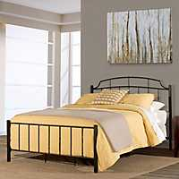 Sedona Black Metal King Bed