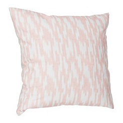 Batik Blush Printed Linen Pillow