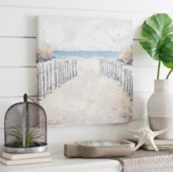 Path to the Ocean Canvas Art Print
