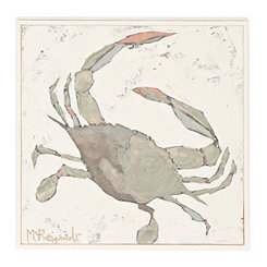 Mini Crab Framed Art Print